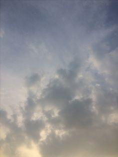 2017년 3월 24일의 하늘 #sky #cloud