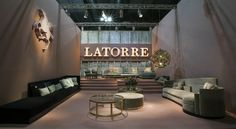 Latorre stand at the latest iSaloni Milano #brand #furniture #uxury…