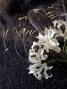 Spider lily Hairpin made by Sakae , 2007