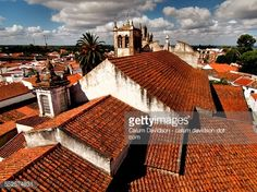 The tiled roofs of the historic Portuguese city of Serpa in the... #serpa: The tiled roofs of the historic Portuguese city of Serpa… #serpa