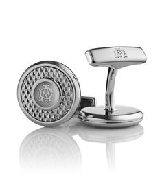 AD Iconic diamond pattern cufflinks - Alfred Dunhill.