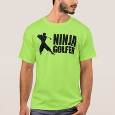 Ninja Golfer T-Shirt - tap, personalize, buy right now!