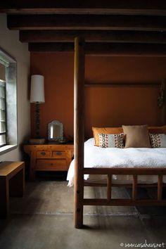 Mexican rustic bedroom / recamara mexicana   Casa Haus