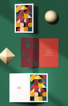 Read - Hermes' new postcard collection will make you want to write again on Luxurylaunches Christmas Graphic Design, Free Postcards, Branding, Poster S, Postcard Design, Christmas Illustration, Grafik Design, Stationery Design, Graphic Design Illustration