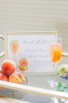 Custom watercolor cocktail sign by Ocean & Coral Creative - let's create something for your wedding reception!