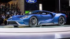 This is going to be the most expensive Ford ever. The 600-horsepower GT supercar was designed as an homage to the Ford GT40 racecar of the 1960s. Vroom!