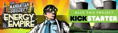 Minion Games The Manhattan Project: Energy Empire Giveaway! Ends March 27, 2016.