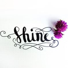 """RMD Blog: """"I rise to taste the dawn, and find that love alone will shine today."""" ~ Ken Wilber Happy Friday friends. Shine on you beautiful people. #rachellettering #handlettering #lettering #brushlettering #handdrawntype #calligraphy #moderncalligraphy #rachelmartindesign #Calligritype #Goodtype #TheDesignTip #TheDailyType #Typespiration #Typography #TypeEverything #Handmadefont #leuchtturm #tombow"""