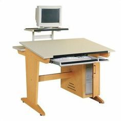 Computer Aided Design Drafting Table Computer Mount: No Mount Included, Keyboard Tray: Excluded by Shain. $1208.06. CDTC - 1VT Computer Mount: No Mount Included, Keyboard Tray: Excluded Features: -Constructed with solid maple and fiberesin top.-Rear shelf and storage cabinet.-Optional stationary platform or flex monitor arm.-Optional keyboard tray. Dimensions: -Overall Dimensions: 30'' H x 42'' W x 39'' D.-Weight: 210 - 238 lbs. Warranty: -Two year warranty.
