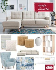 Inšpirujte sa a stavte na nábytok a doplnky, ktoré z vašej obývačky urobia príjemné miesto.