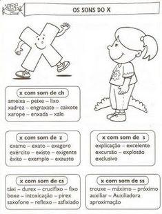 Atividades ortografia x e ch