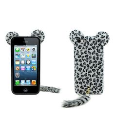Loving this Leopard Furry Friends Case for iPhone 5/5s on #zulily! #zulilyfinds