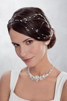 Couture headband mariage cristal Swarovski odazz Idées