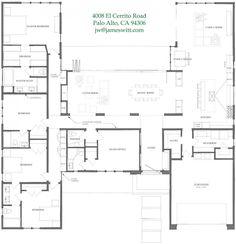 4 bedroom open plan