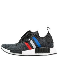 new style 1c4e9 9b043 adidas Originals NMD R1 - Sneakers laag - core black core red white -  Zalando