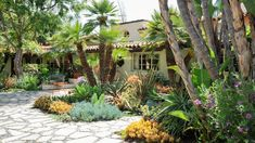 april palmer landscape design   Spanish Hacienda
