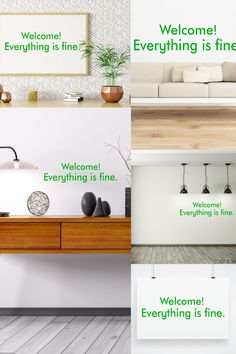 Wall Quote Sticker Decal Everyone Brings Joy to this House Funny Humourous