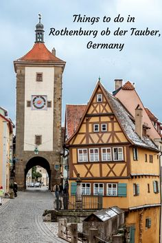 There are many fun things to do in the lovely German town of Rothenburg ob der Tauber