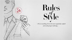 Rule of Style No. 01