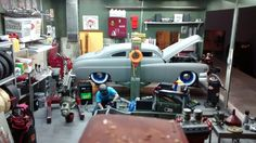 Speed Shop Dio-COMPLETE - Dioramas - Model Cars Magazine Forum