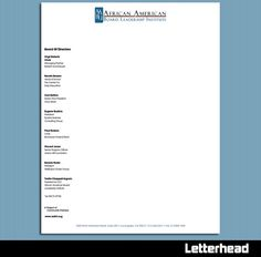 Sample Letterhead With Board Of Directors Listed  Google Search