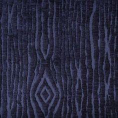 Duralee 15441-193 INDIGO Fabric  John Robshaw