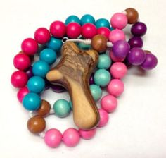 Enter to win a beautiful children's rosary from Etsy shop BC Inspirations!  Ends 11/14.