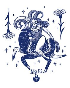 Zodíaco - Solo Show - Shelby Showalter - Zodíaco - Solo Show Aries // Sonia Lazo - Arte Aries, Aries Art, Aries Astrology, Zodiac Art, Zodiac Horoscope, Zodiac Signs, Tarot, Aries Season, Horoscope Tattoos
