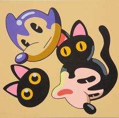 Dongi Lee_Bubbles_acrylic on canvas_120 x 120 cm_2008