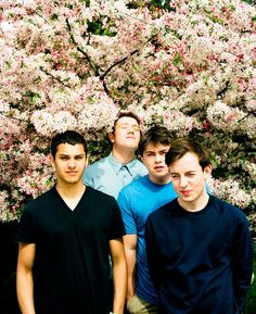 Embrace the flowers. Bombay Bicycle Club this Wednesday!