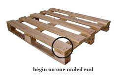 Dishfunctional Designs: How To Disassemble A Wooden Shipping Pallet
