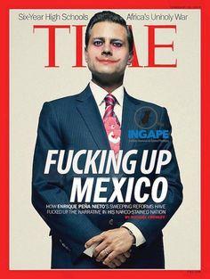 """"""" Vice Magazine: Exigir no es Ladrar. """" ¿Enrique Peña Nieto va a salvar a México? Lo dudo muchísimo. Sobre todo porque """"salvar"""" no quiere decir nada, o quiere decir muchísimas cosas, o más bien quiere..."""
