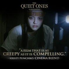 The quiet ones Jane Harper, The Quiet Ones, Creepy, Cinema, Film, Lions, Movie Posters, Horror, Movies