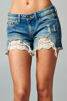 Everyday Lace Cutoffs
