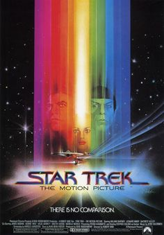 Star Trek The Motion Picture - movie poster key art by Bob Peak in BobPeakMovie Poster Art by Bob Peak