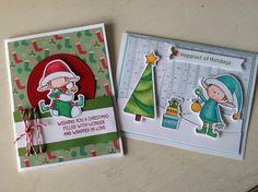 #elves #mftstamps #cardmaking