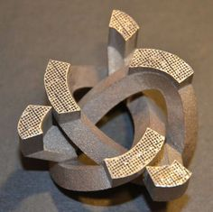 3D printed lightweight structure by Fraunhofer #3dPrintedMetal