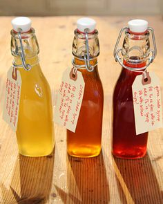 Homemade Quince Soda Syrup