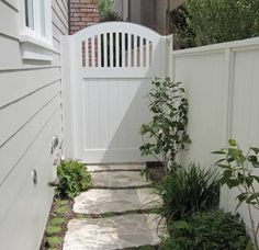 Image result for side gate and fence
