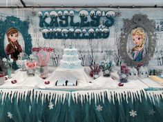 Epic Frozen Birthday party