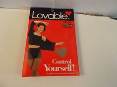 Lovable Control Top Silky Sheer Pantyhose