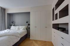 Chambre à coucher Appartement parisien de 75m2- GCG Architectes