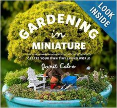 Gardening in Miniature: Create Your Own Tiny Living World: Janit Calvo, Kate Baldwin: 9781604693720: Amazon.com: Books