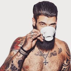 There's An Instagram With Only Photos Of Men Drinking Coffee, And It's Perfect