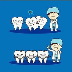 Straighten up! #dentistry