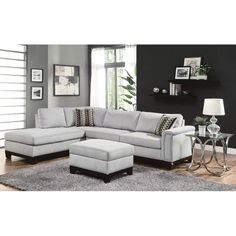 Charmant Buy Dorel Living Small Spaces Configurable Sectional Sofa, Multiple Colors  At Walmart.com | ME For Mom | Pinterest | Small Spaces, Leather Sectiu2026