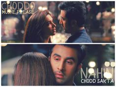 Mt chodna 😉 Tv Show Quotes, Movie Quotes, Yjhd Quotes, Filmy Quotes, Movie Dialogues, Bollywood Quotes, Epic Movie, Meant To Be Together, Movie Lines