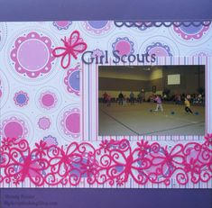 Girl Scout Layout | My Scrapbooking Blog
