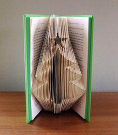 Christmas Tree  Folded  Book Art  Christmas by LucianaFrigerio, $85.00