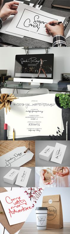{Free Font} SUGAR CANDY | Pinned by @Luvly.co